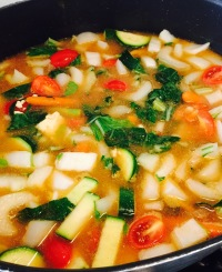 Hot and Sour Thai Vegetable Stew Picture
